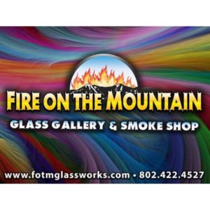 Fire On The Mountain Glass